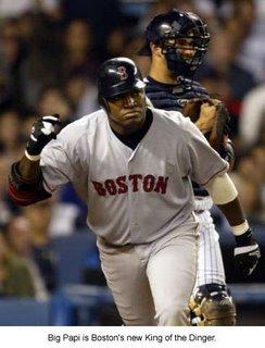 Designated hitter David Ortiz has become the single-season home run champion for the Boston Red Sox.