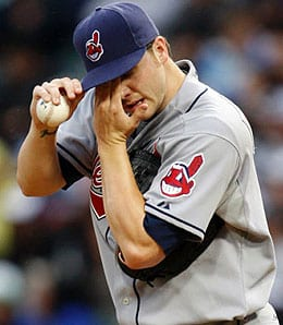 Aaron Laffey has moved through the Cleveland Indians system quickly.