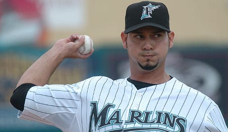 Anibal Sanchez looked masterful for the Florida Marlins.