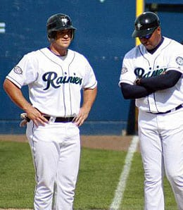 Jeff Clement has some competition for the Seattle Mariners.