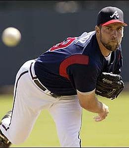 John Smoltz has been dealing for the Atlanta Braves.