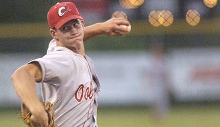 Kyler Burke is a star for Ooltewah High School in Tennessee.