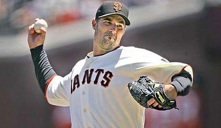 Matt Morris is starting to enjoy life with the San Francisco Giants.