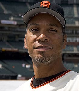 Moises Alou is on the DL for the San Francisco Giants.