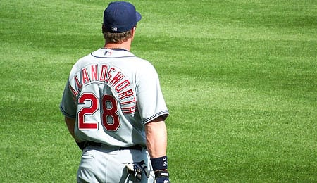 Todd Hollandsworth has been getting decent PT for the Cleveland Indians.