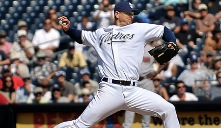 San Diego Padres closer Trevor Hoffman struggled in the All-Star Game.