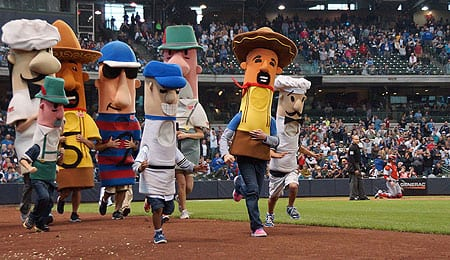 The Milwaukee Brewers have added chorizo to their sausage races.