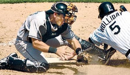 Matt Treanor has landed on the DL for the Florida Marlins.