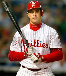 Pat Burrell is racking up the runs for the Philadelphia Phillies.