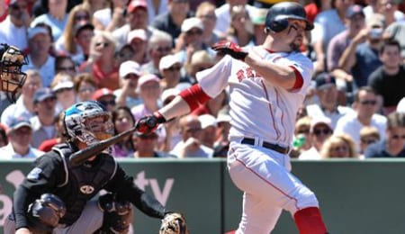 Trot Nixon has landed on the DL for the Boston Red Sox.