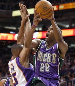 Milwaukee Bucks swingman Michael Redd is suddenly available on many league's waiver wires.