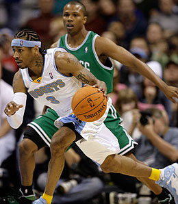 Denver is still waiting for guard Allen Iverson to make a difference.