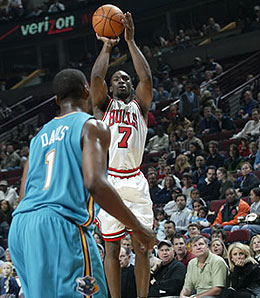Would you take Chicago Bulls guard Ben Gordon over Indiana Pacer forward Danny Granger in a keeper league?