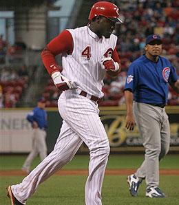 Cincinnati Reds second baseman Brandon Phillips enjoyed a breakthrough season in 2006.