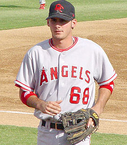 Would the Los Angeles Angels shift shortstop prospect Brandon Wood to third base?