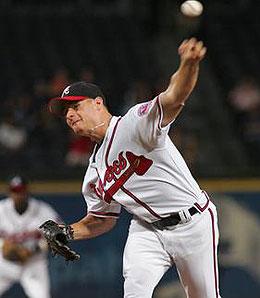 Atlanta Braves starting pitcher Chuck James has plenty of upside.