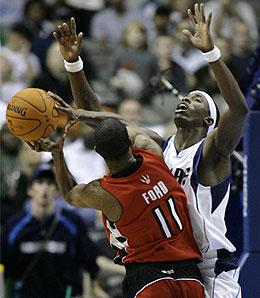 Dallas Mavericks swingman Josh Howard has dealt with plenty of ankle woes this year.