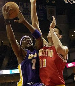 Don't expect Los Angeles Lakers' forward Lamar Odom to be part of any deal to land New Jersey Nets point guard Jason Kidd.