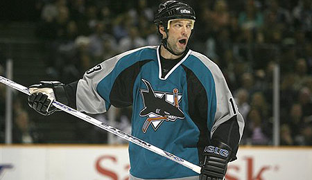 The San Jose Sharks added right winger Bill Guerin at the deadline.