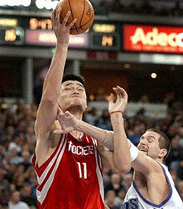 Sacramento Kings centre Brad Miller, right, has been a major disappointment this season.