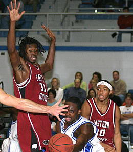 Eastern Kentucky Colonels big man Darnell Dialls hopes to lead the team to its first ever tourney win.