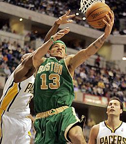 Boston Celtics guard Delonte West looks like a good late-season bet.