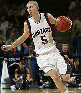 Gonzaga Bulldogs point guard Derek Raivio stepped forward as a leader this season.