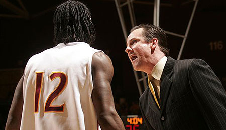Winthrop Coach Gregg Marshall will try to take the Eagles to the next level.