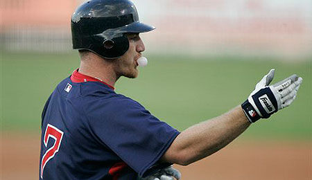 Boston Red Sox outfielder J.D. Drew is an injury waiting to happen.