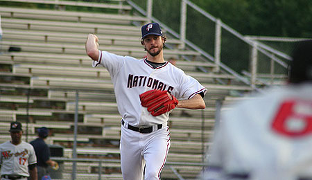 Starting pitcher John Patterson will be one of the few bright spots on the Washington Nationals this season.