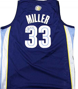 Memphis Grizzlies guard Mike Miller has filled out his jersey quite admirably this year.