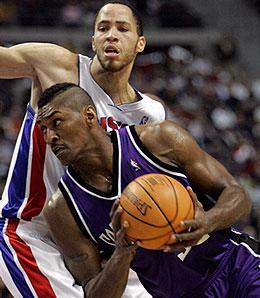 Sacramento Kings forward Ron Artest is in a heap of trouble again.
