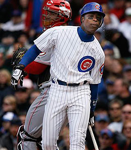 Chicago Cubs centrefielder Alfonso Soriano has yet to pay dividends.