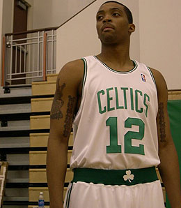 Boston Celtics rookie guard Allan Ray has looked very good when called upon.