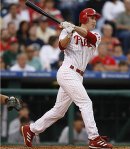 Who else but Philadelphia Phillie Chase Utley can top our list of second basemen?