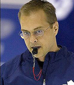Toronto Maple Leafs coach Paul Maurice is on the hot seat.