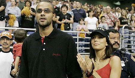Tony Parker and Eva Longoria look sickeningly good together.