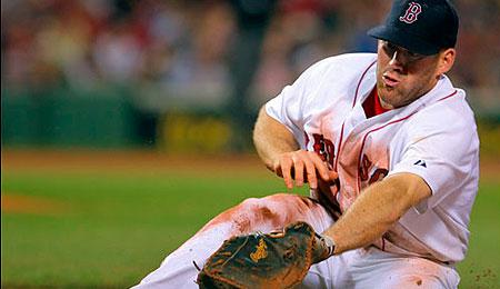 Boston Red Sox first baseman Kevin Youkilis is enjoying a major breakout season.