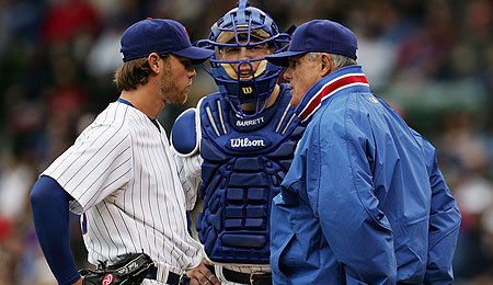 Chicago Cubs reliever Neal Cotts is off to a nice start, despite some control problems.