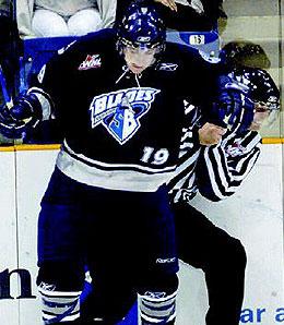 Philadelphia Flyers third rounder Garrett Klotz was a surprise pick.