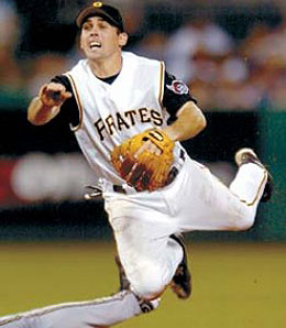 Pittsburgh Pirates shortstop Jack Wilson is a better option than Mike Jacobs right now.