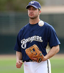 Milwaukee Brewers third baseman Ryan Braun is looking like an NL ROY candidate.