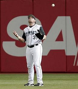 Tampa Bay Devil Rays OF/DH Jonny Gomes is enjoying a big season.