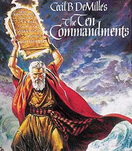 Isn't 10 commandments a bit too many to remember?