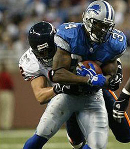 Detroit Lions tailback Kevin Jones will attempt to come back early.