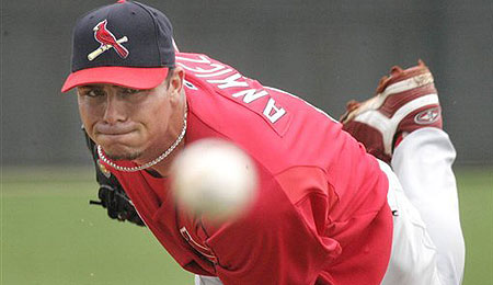 Rick Ankiel's shift from pitching to outfield has worked out way better than expected.