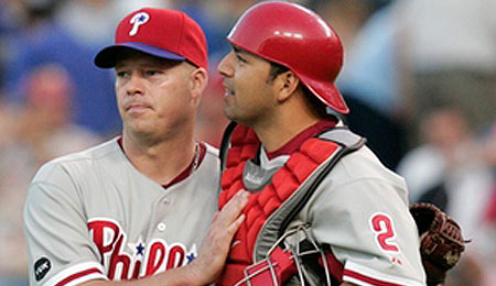 Rod Barajas came through for the Phillies.