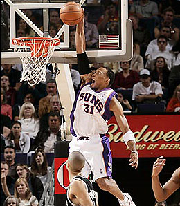 Shawn Marion is rumoured to be on the trading block.