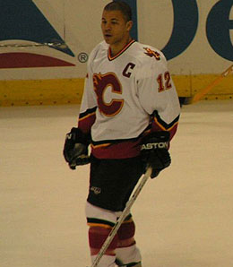 Jerome Iginla is off to another big start.