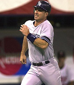 Tino Martinez came up big in the 2001 World Series.